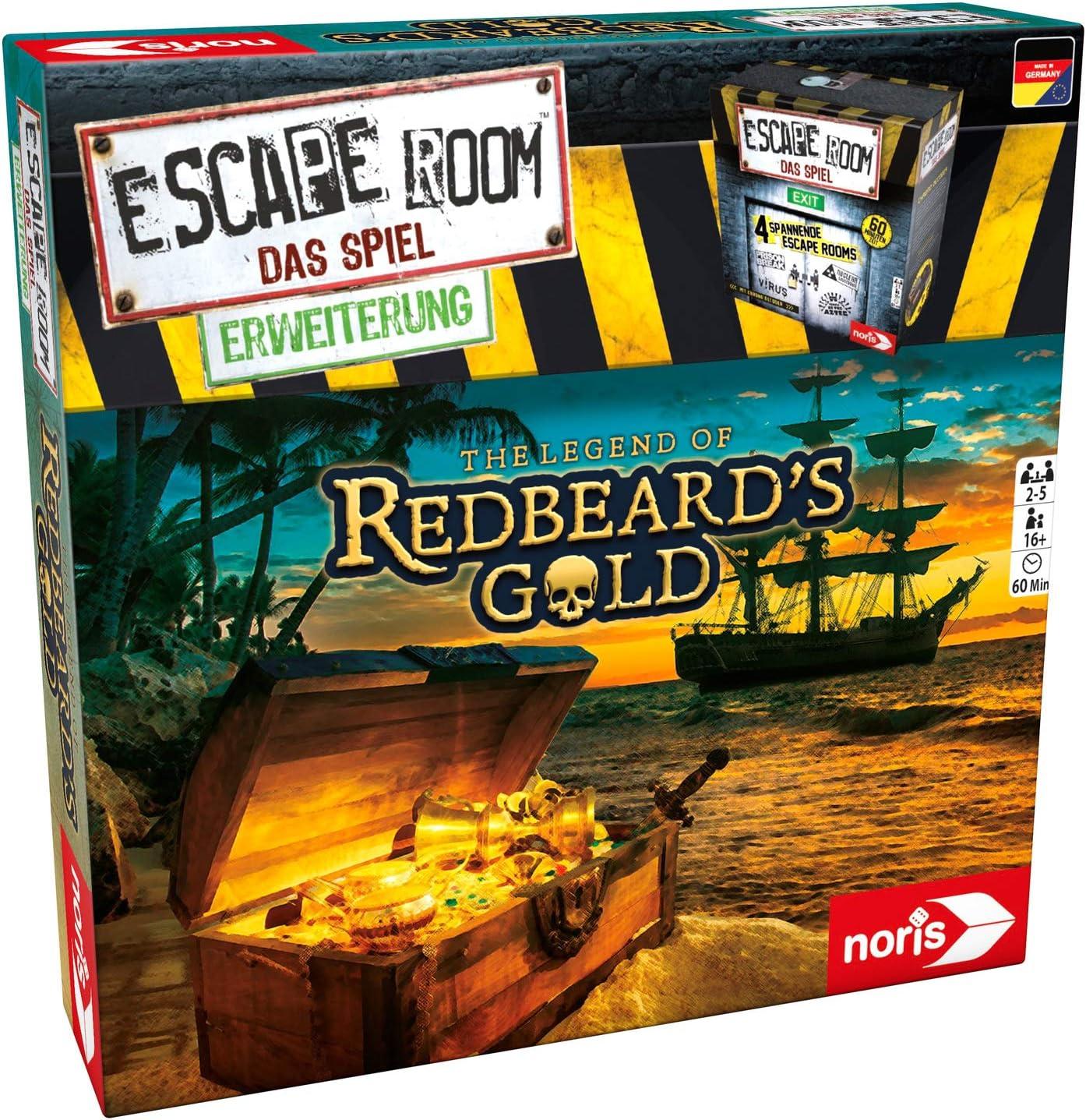 Noris Escape Room Redbeards Gold Deducción Niños y Adultos - Juego ...