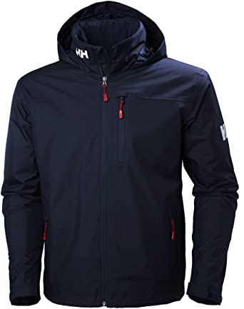 Helly Hansen Crew Hooded Midlayer - Chaqueta Impermeable con capucha para Hombre