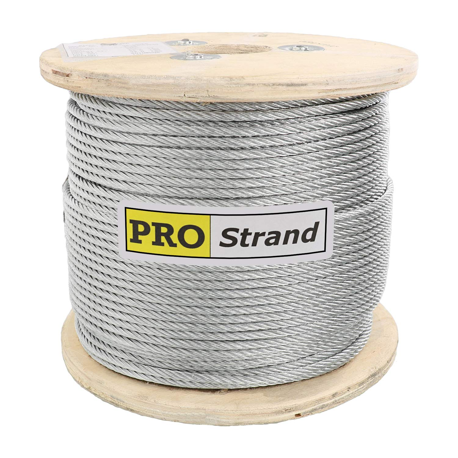 """800 ft reel 7x19 Galvanized Wire Rope Cable  3//16/"""""""