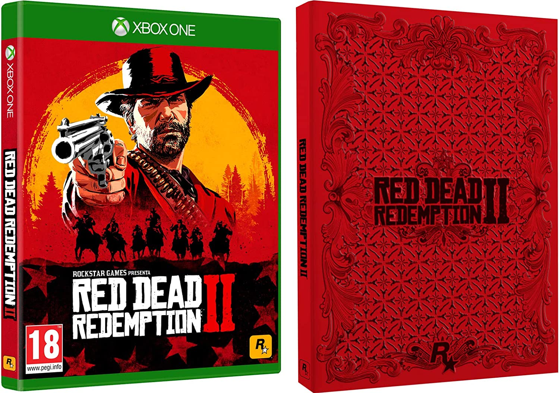 Red Dead Redemption 2 + Steelbook da Collezione - Bundle Limited ...