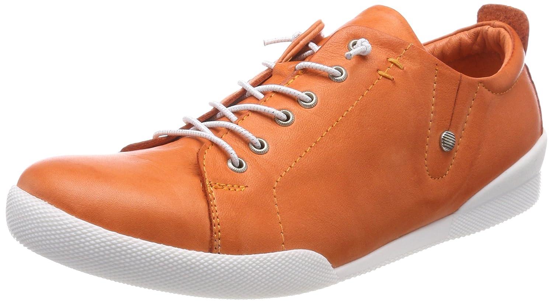 Andrea Conti 0345724, Zapatillas para Mujer 37 EU|Naranja (Papaya 044)