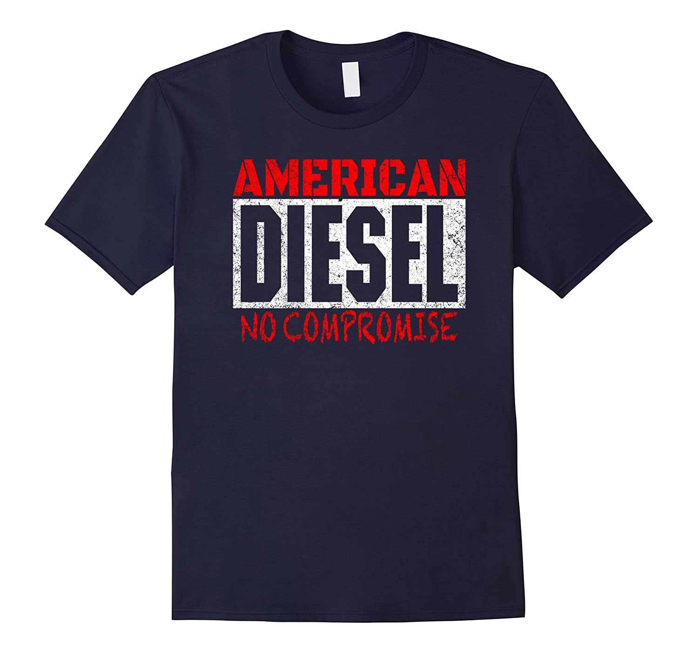 Mens American Diesel Trucks T-Shirt-ANZ