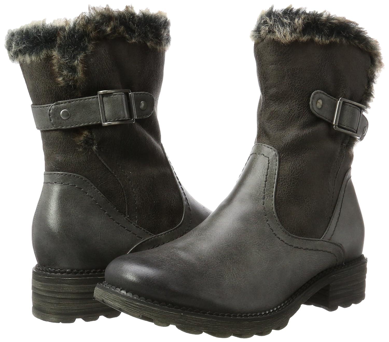 Tamaris Damen 26433 Stiefel Stiefel 26433 Grau (Graphite) 7cba96