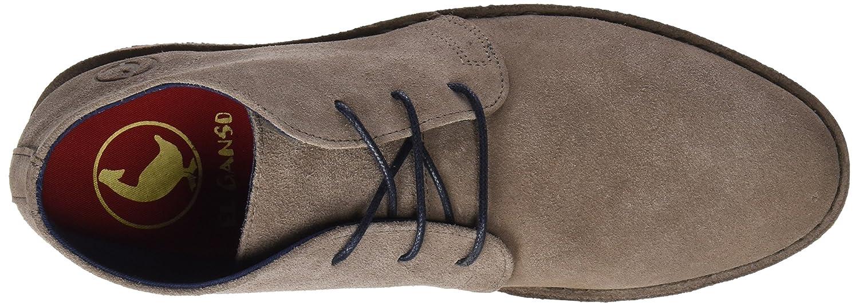 El Ganso M Botín Alto Guerrero Hombre, Gris (Visón), 42 EU: Amazon.es: Zapatos y complementos