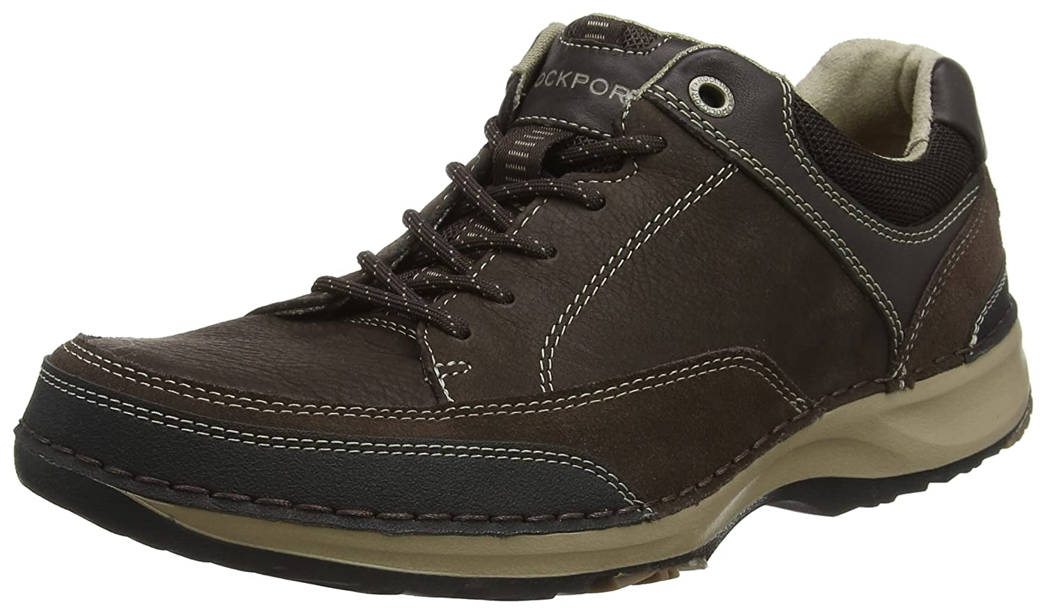 TALLA 40.5 EU. Rockport Rockstyle Purposeorts Lite Five Lace Up, Zapatos de Cordones Derby para Hombre