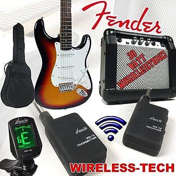 Fender Squier Bullet Strat guitarra eléctrica degradado Wireless con ...