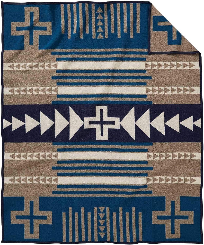 Taupe Twin ZE494-53270 Pendleton Thunder Quarrel Wool Blanket