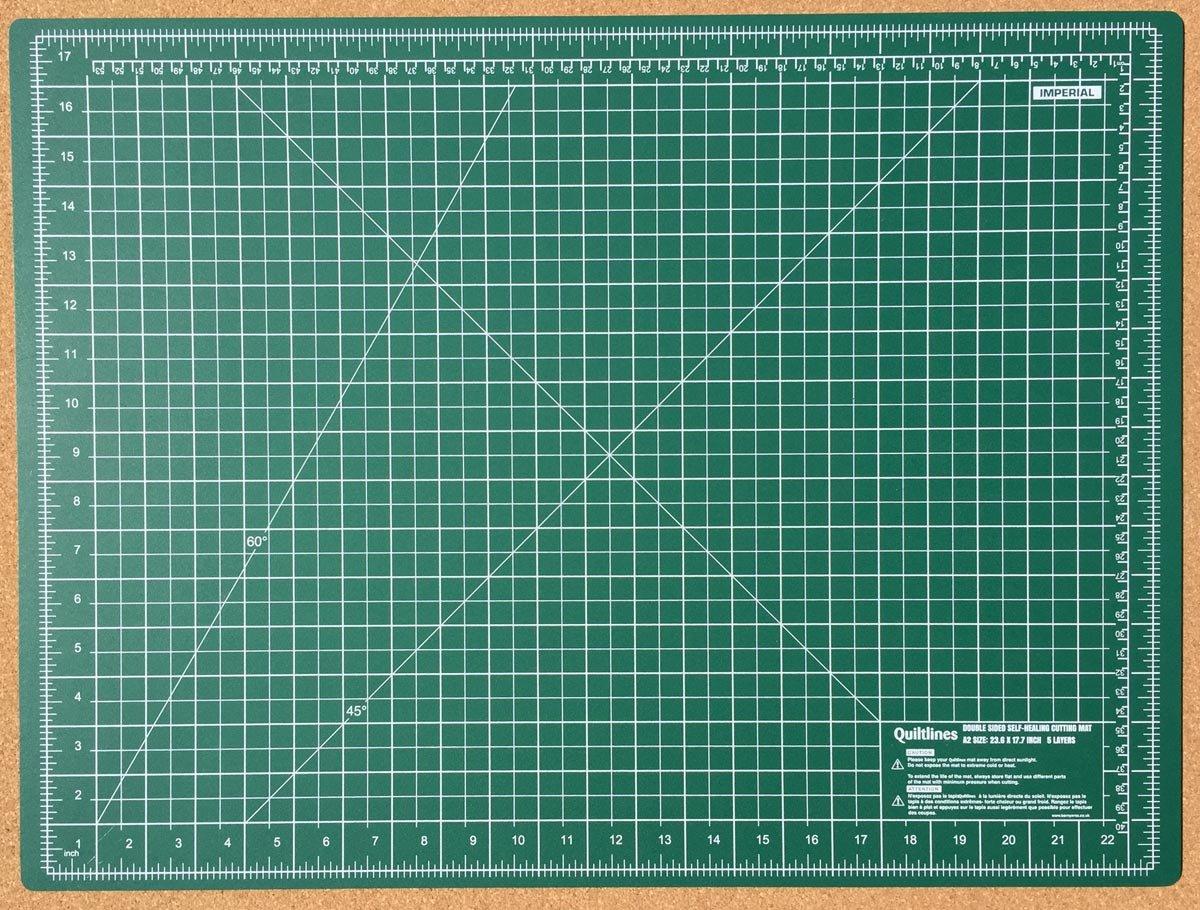 tama/ño A3 verde Matcha Esterilla de corte autorreparadora de doble cara almohadilla de corte autorreparadora alfombrillas de corte de 3 mm de grosor