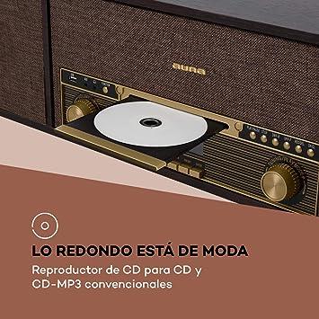 auna Belle Epoque 1912 Tocadiscos Retro: Amazon.es: Electrónica