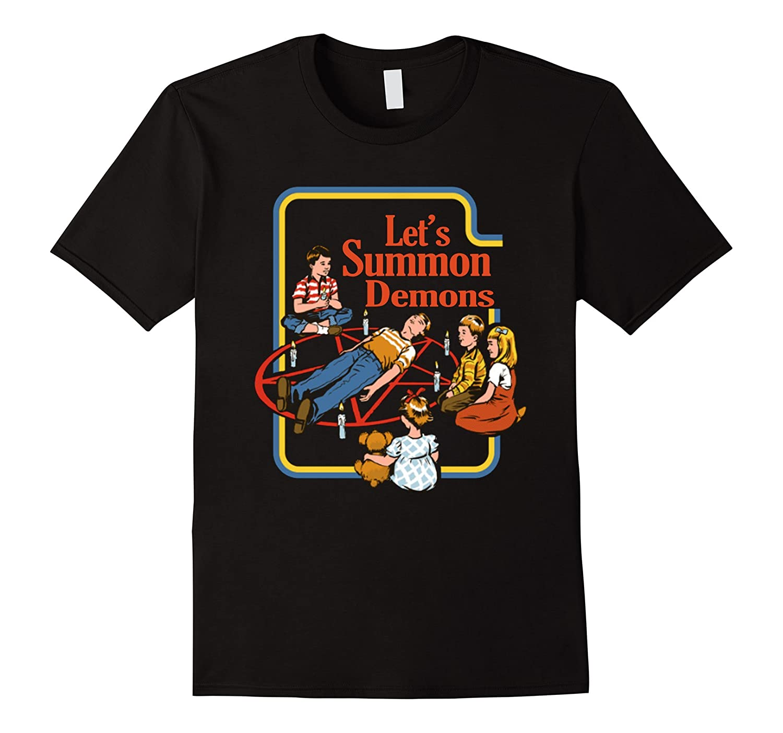 Let's Sacrifice Toby t-shirt, Let's Summon Demons T-Shirt-Art