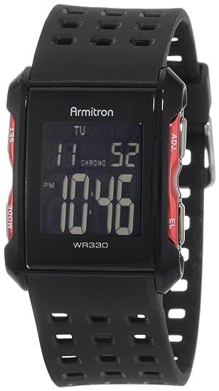 c4d157bb357f ARMITRON PRO SPORT 408177RED Reloj Deportivos para Hombre  Amazon ...