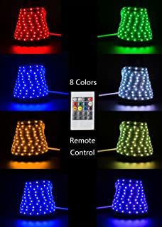 Amazon command outdoor rope light clips with foam strips clear 164ft5m flexible flat rgb led light strip rope lights connectable dimmable waterproof aloadofball Choice Image