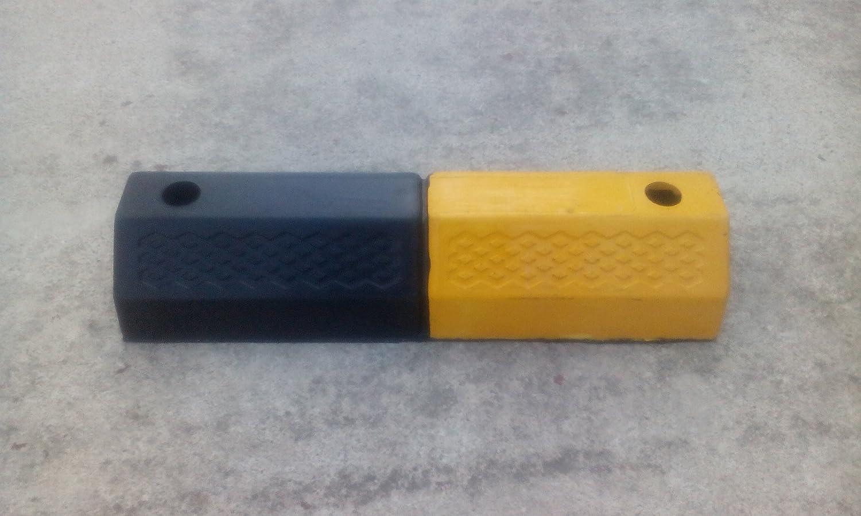 RWS-222 Tope de ruedas de caucho para los estacionamientos y garajes 50 x 16 x 9.5 cm