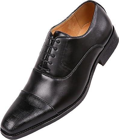 Men/'s Brown Oxford Two-Tone Gator Head Dress Shoes Amali US Sizes 8.5-10.5