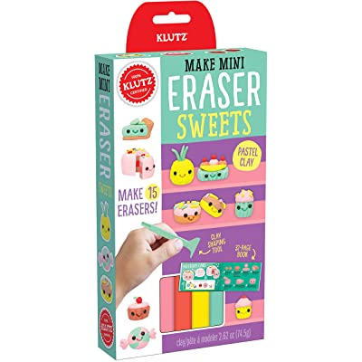 Klutz Make Mini Eraser Sweets Craft Kit: Toys & Games
