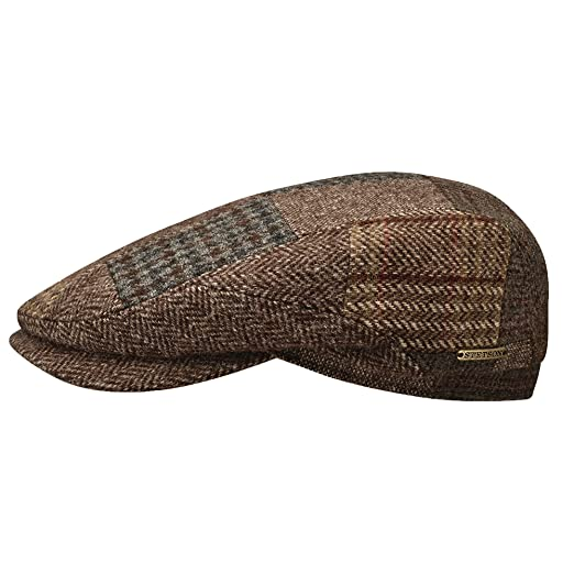 STETSON BELFAST PATCHWORK WOOL IVY HAT at Amazon Men s Clothing store  4ef9ef61c897