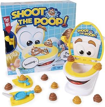 Maya Games Shoot The Poop – Juego familiar divertido, juego de caca de descarga rápida y frenética