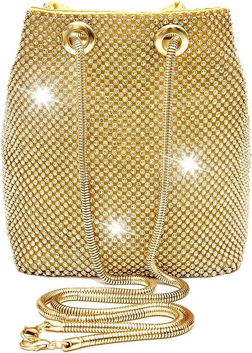 1920s  Rhinestone Bucket Bag