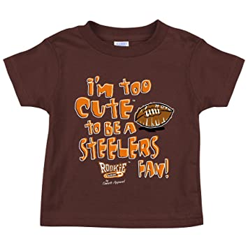 newest collection e4b7f bc8a5 Cleveland Browns Fans. Too Cute Brown Toddler Tee (3T)