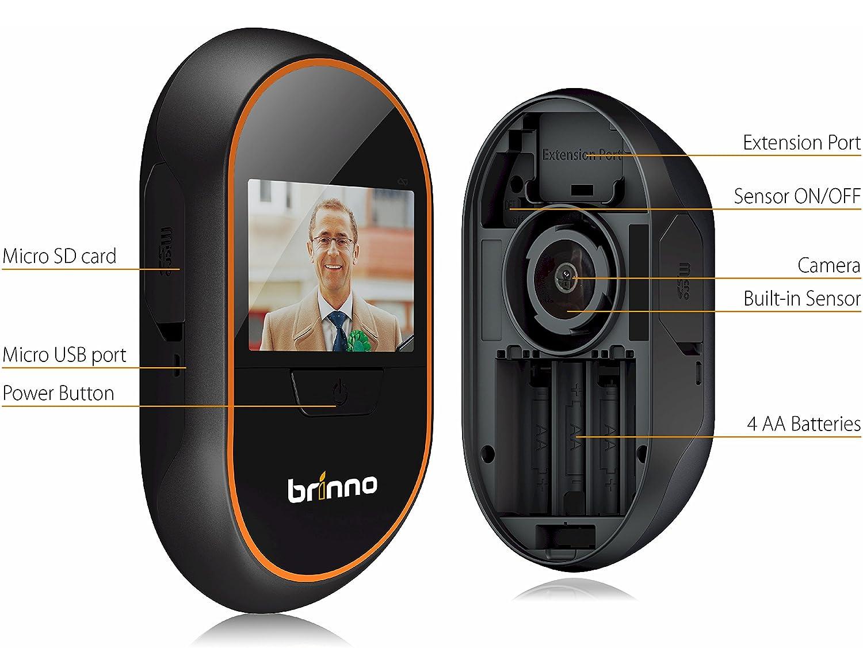 Brinno PHV de Mac 12 mm - Motion Activated Peephole Viewer 12 mm: Amazon.es: Electrónica