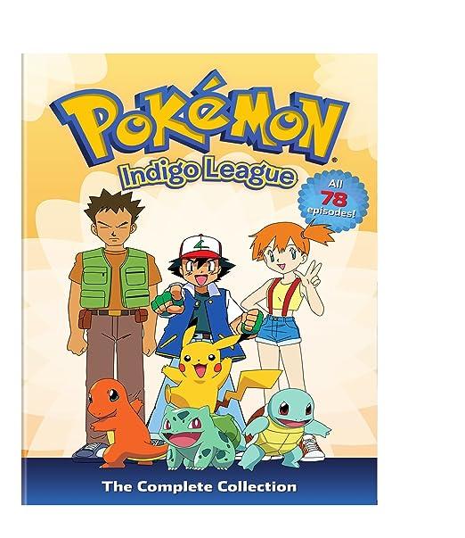 Amazon.com: Pokemon: Season 1 - Indigo League - The Complete ...