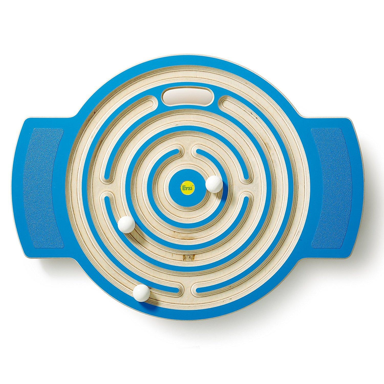 German Wooden Toy Labyrinth Trackboard, 62 x 47 x 6cm