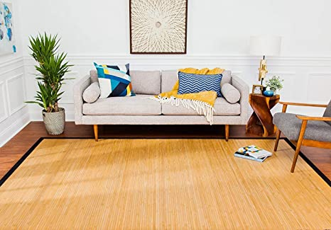 Superb 5 X 8 Contemporary Natural Bamboo Rug Download Free Architecture Designs Rallybritishbridgeorg