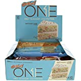 ONE Protein Bar, Variety Pack, 20g Protein, 1g Sugar, 12-Pack (packaging may vary)