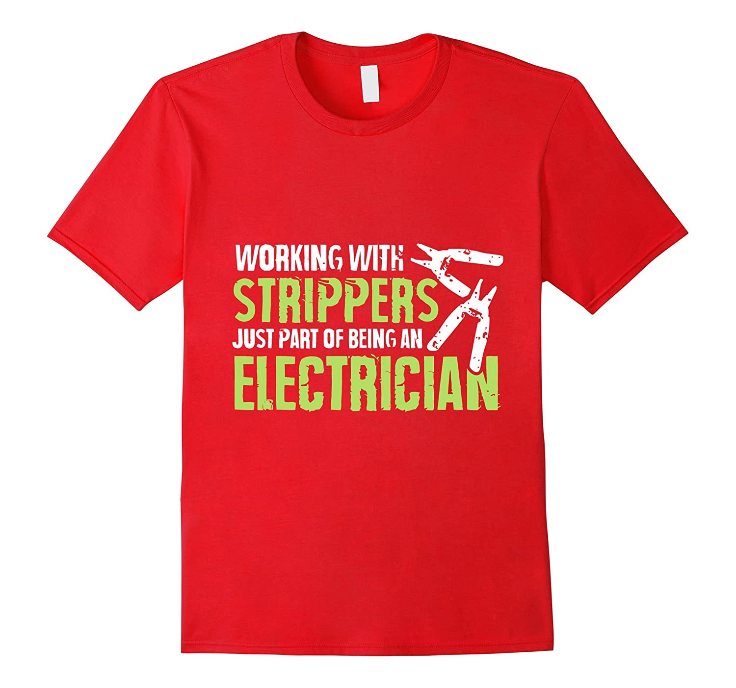 Working With Strippers Just Part of Being An Electrician-TH