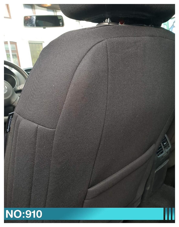 Maß Sitzbezüge Kompatibel Mit Mitsubishi L200 5 Gen Fahrer Beifahrer Ab 2015 2019 Farbnummer 910 Baby