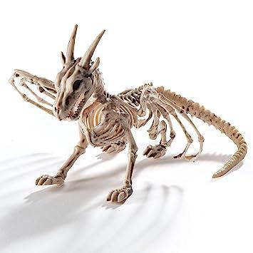 Dragon Halloween Decorations.Prextex Dragon Skeleton Bone White Halloween Decorations Amazon In Toys Games