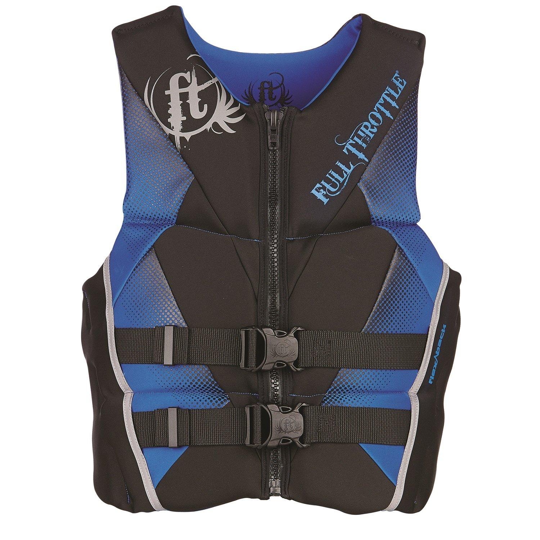 超可爱 Full Throttle Men's Throttle Hinged Men's Rapid-Dry Flex-Back ライフベスト ライフベスト (Blue, X-Large) B00NFE4R52, ワインマルシェまるやま:d130d37b --- a0267596.xsph.ru