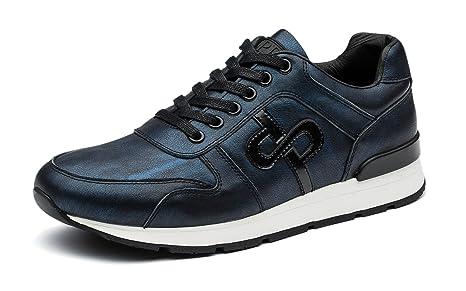 OPP Scarpe Sportive in Pelle Sportive Sneakers, Uomo Donna