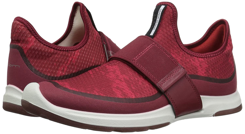 ECCO Women's Biom AMRAP Strap Fashion Sneaker B01M68782U 37 EU / 6-6.5 US|Brick/Brick-tomato