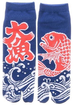 Amazon.com: Japonés Samurai Ninja Tabi calcetines; Big Catch ...