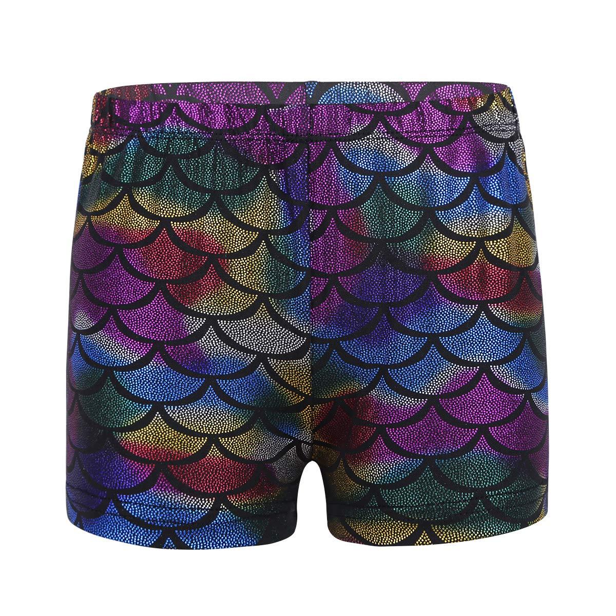 Freebily Girls Boy-Cut Shorts Low Rise Solid Booty Bottoms Dance Underwear Colorful1 10
