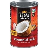 Thai Kitchen Gluten Free Unsweetened Coconut Milk, 13.66 fl oz (Pack of 12)