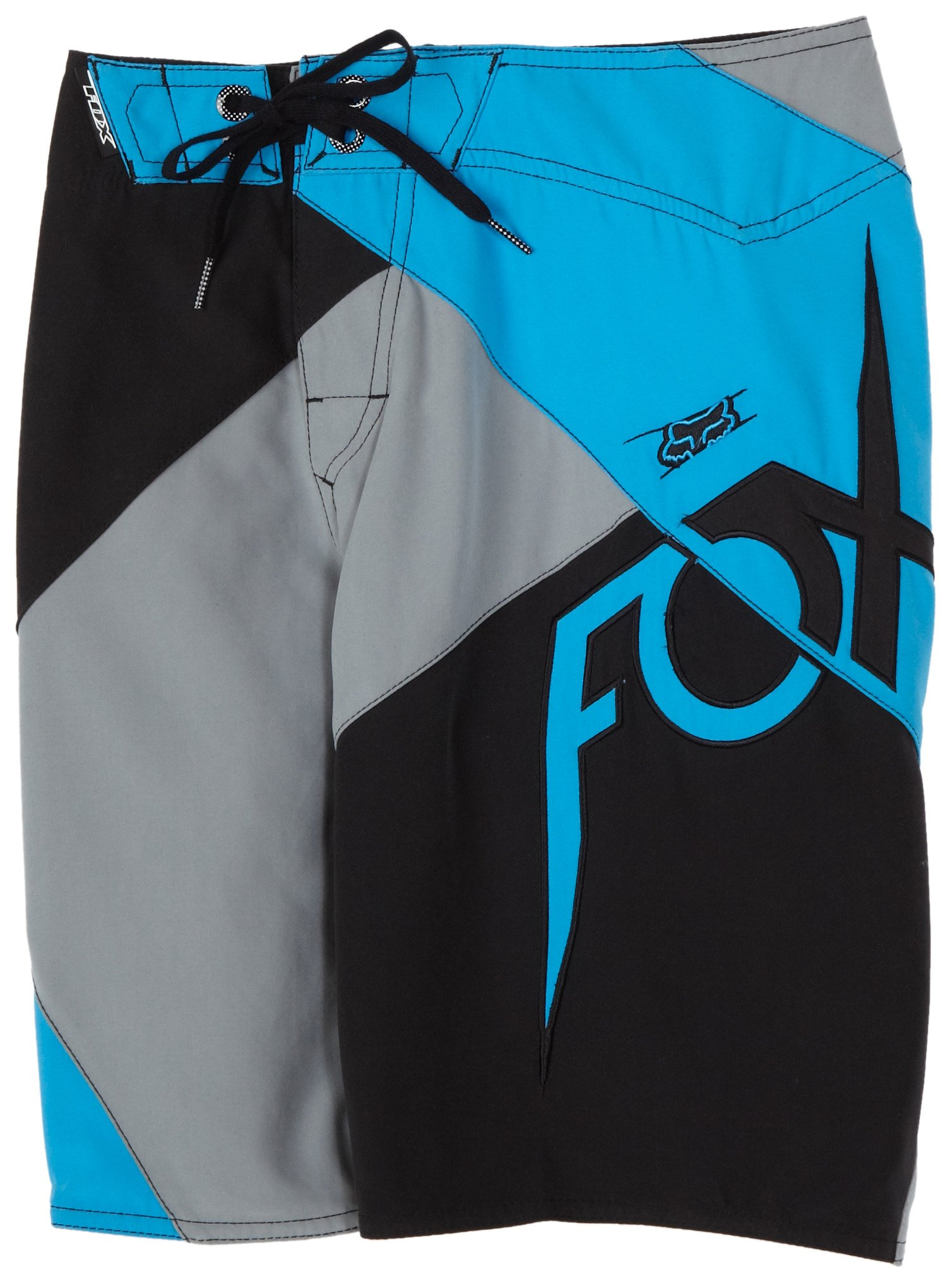 FOX Big Boys' Quadrant Boardshort,Black,W27