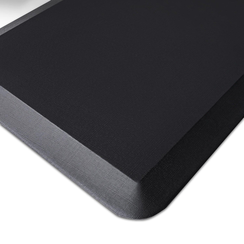 Licloud Comfort Flat Anti Fatigue Mat Ergonomically Engineered Perfect for Kitchens and Standing Desks Adjustable Desk Riser(20