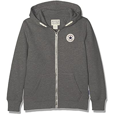 Converse Core Chuck Taylor Patch Hoodie - Charcoal Heather