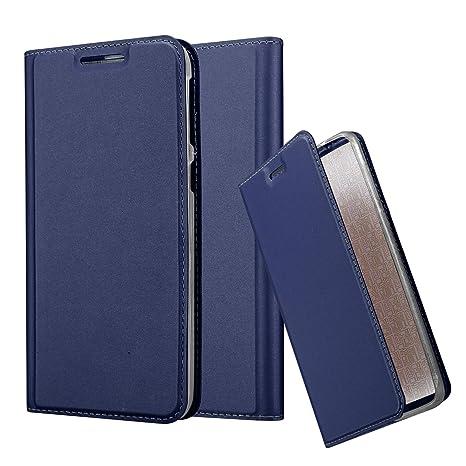 Cadorabo Funda Libro para HTC Desire 820 en Classy Azul Oscuro – Cubierta Proteccíon con Cierre Magnético, Tarjetero y Función de Suporte – Etui Case ...