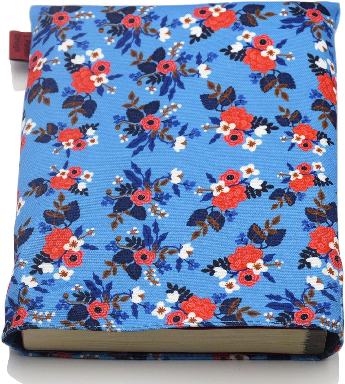 Book Sleeve Birch Floral Book Cover Medium Book Sleeve Teen Gift Medium Tela