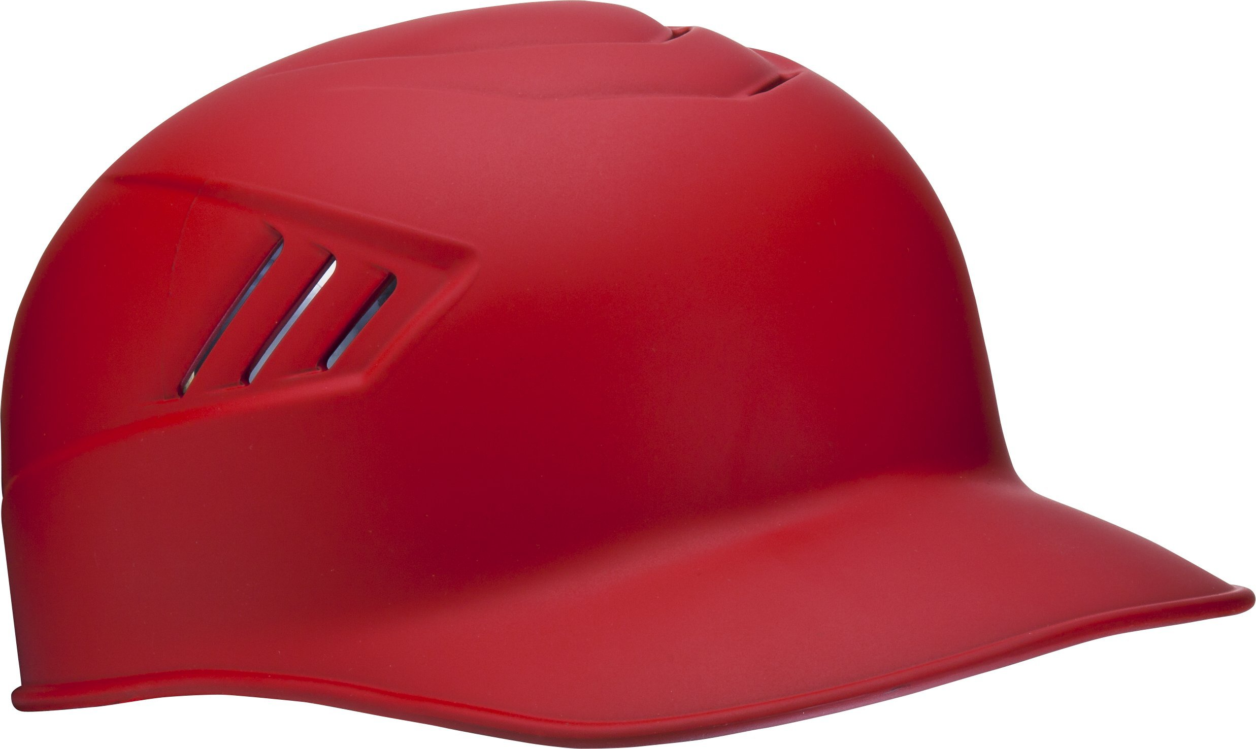 Rawlings Coolflo Matte Style Alpha Sized Base Coach Helmet, Scarlet, X-Large by RAWLINGS