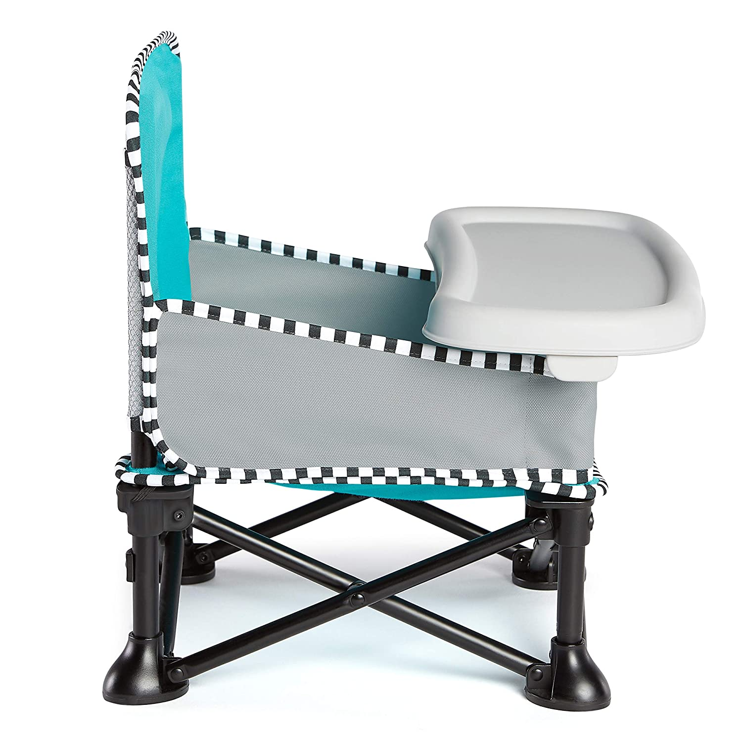 Baby Lounger for Indoor//Outdoor Use Easy and Compact Fold Summer Pop /'n Sit SE Recline Lounger Fast Sweet Life Edition Blue Raspberry Color Grows with Baby and Can be a Floor and Booster Seat