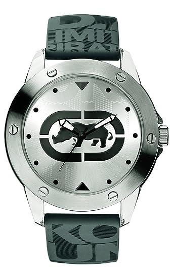 Marc Ecko E09520G7 - Reloj analógico de Cuarzo para Hombre con Correa de Silicona, Color Gris: Marc Ecko: Amazon.es: Relojes
