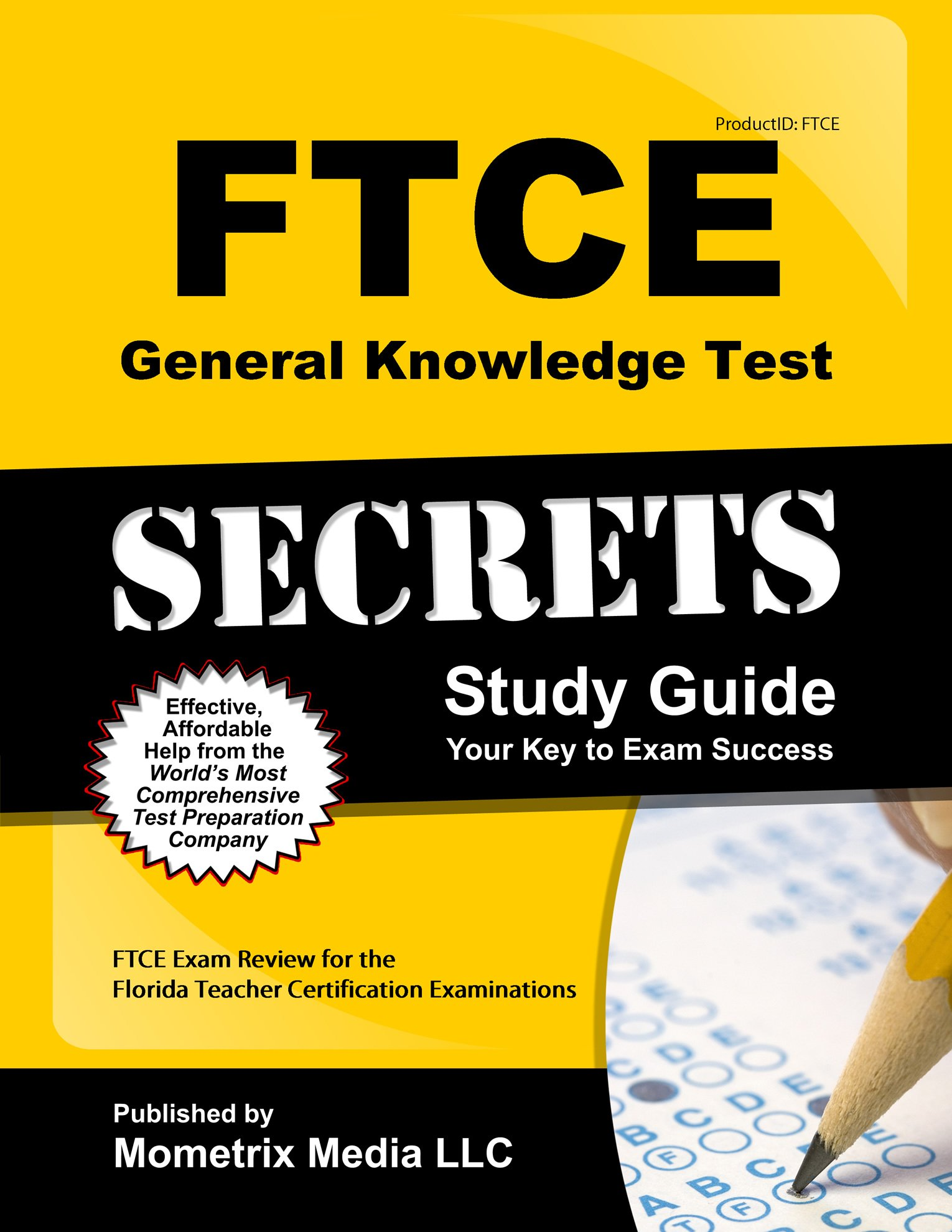 Ftce General Knowledge Test Secrets Study Guide Ftce Exam Review