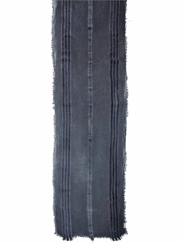 Made in Italy Viskose 50 x 190 cm FRAAS Herrenschal Schal mit Streifen-Design