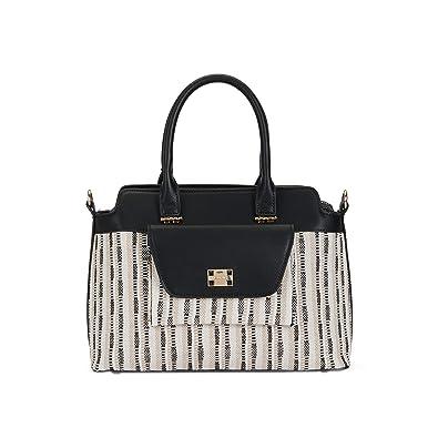 c16165401956e Parfois - Taschen Handtasche Stoff Fantasy Beige - Damen - Größe L - Beige