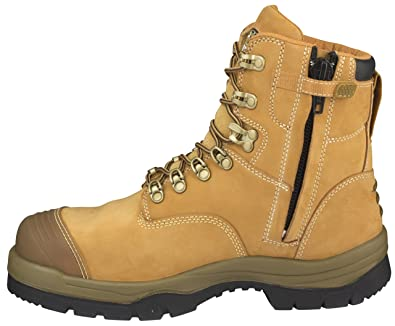 ba72669dab9 Oliver ATS Mens Work Boots Safety Steel Toe Zip 55332Z, AU11: Amazon ...