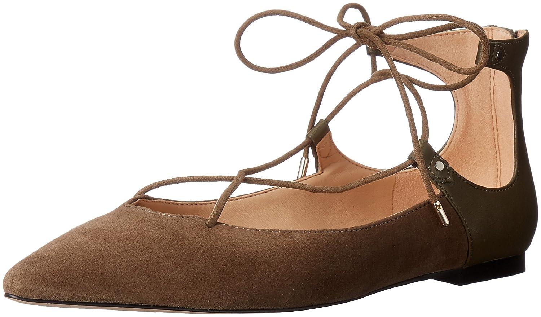 Sam Edelman Women's Rosie Pointed-Toe Flat B01AYK1BSK 8 B(M) US|Moss Green